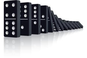 Domino-Effect