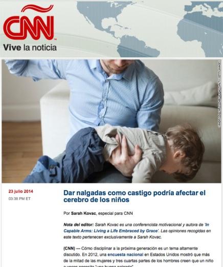 Dar nalgadas - CNN