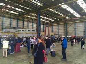 Hangar 41 crowd